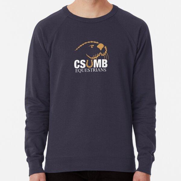 CSUMB Equestrians Navy Backgrund Lightweight Sweatshirt