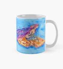 Mermaid on a Clamshell Mug