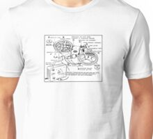 Retro Portable Tape Recorder (from the Vintage Magazine series) Unisex T-Shirt