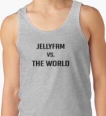 Jelly Fam vs The World Basketball Tank Top