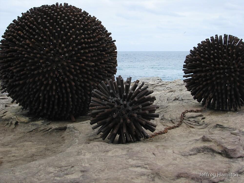 """Sculpture x the Sea: """"Urchins"""" by Jeffrey Hamilton"""