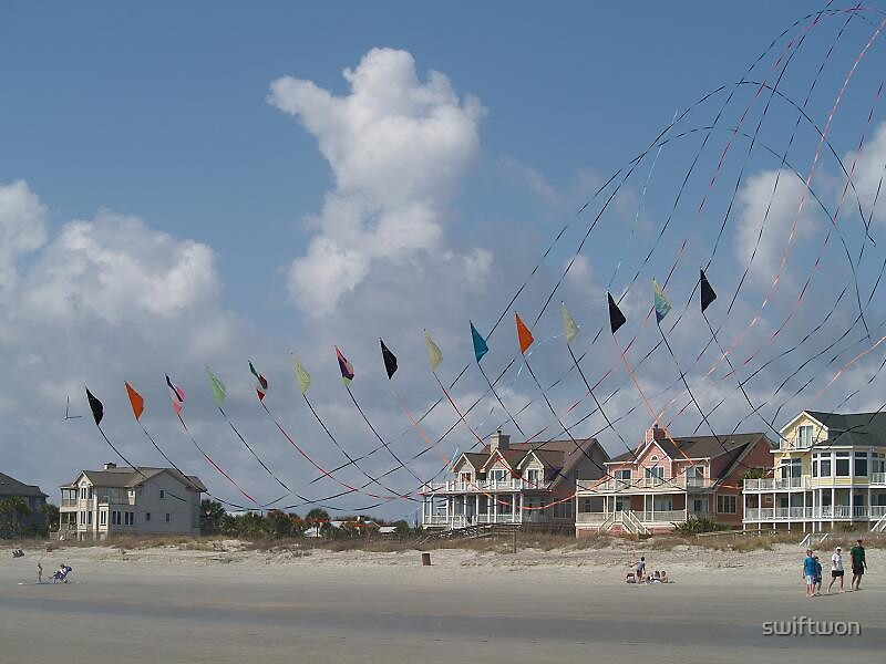 Kites and color by swiftwon