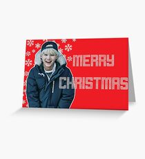 BTS Christmas- Suga Greeting Card