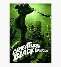 Creature From The Black Lagoon Classic Monster Photographic Print