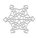 Embossing Geometric Snowflake by Lilly Allman