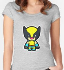 cartoon Women's Fitted Scoop T-Shirt