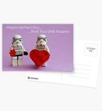 Mother's Little Troopers Postcards