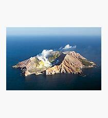 White Island Photographic Print