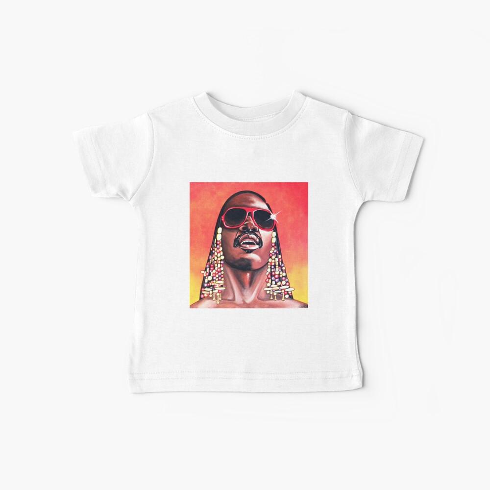 - Stevie Wonder - Camiseta para bebés