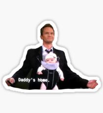Barney Stinson - Vaters Haus - HIMYM Sticker