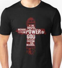 Jesus Christ I Am Not Ashamed Of The Gospel  Unisex T-Shirt
