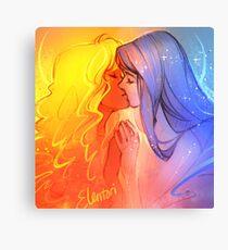 Sol y Luna Canvas Print