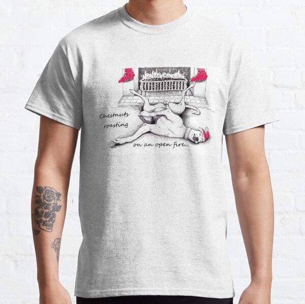 A greyhound christmas Classic T-Shirt