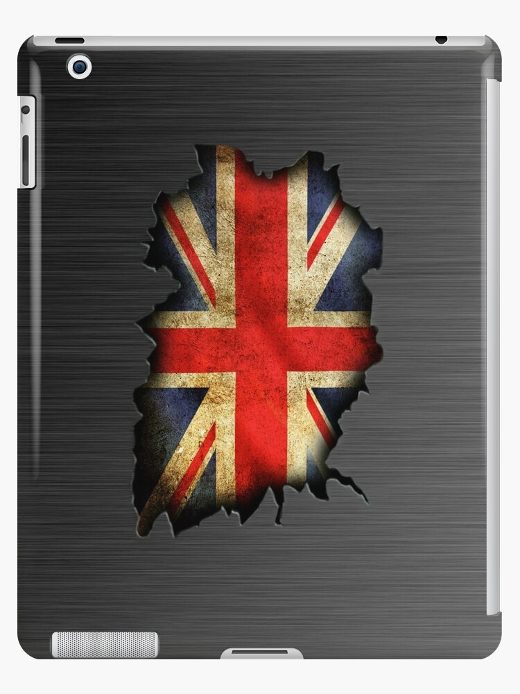 Union jack wall crack by ALIANATOR