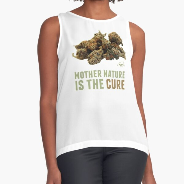 Mother Nature is the Cure Sleeveless Top