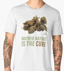 Mother Nature is the Cure Men's Premium T-Shirt
