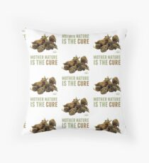 Mother Nature is the Cure Floor Pillow