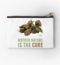 Mother Nature is the Cure Zipper Pouch