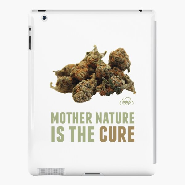 Mother Nature is the Cure iPad Snap Case