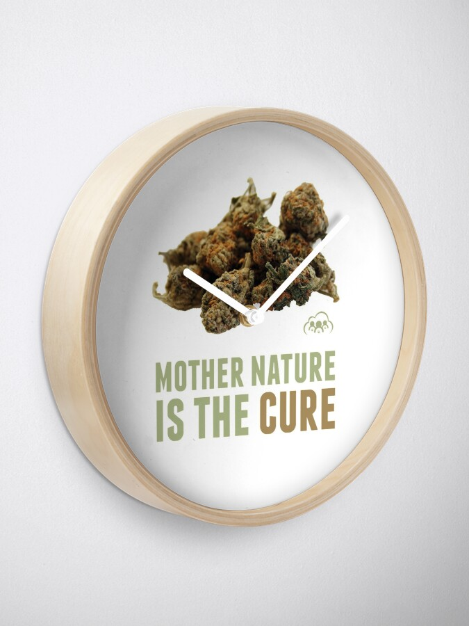 Alternate view of Mother Nature is the Cure Clock