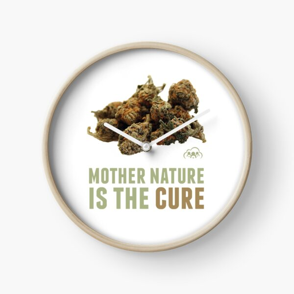 Mother Nature is the Cure Clock