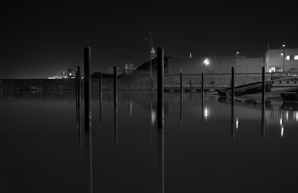 Pylons & Boatramp by MClementReilly