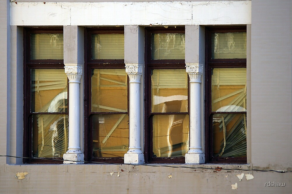 Four Window Blinds by rdshaw