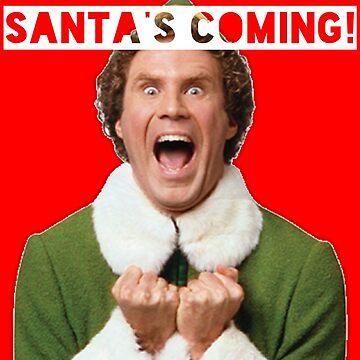 Elf - Santa's Coming! by lettherebelips