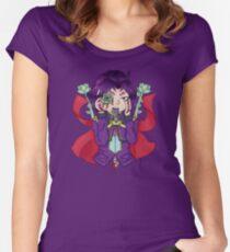 Succulent Yuri Yugioh Arc V Women's Fitted Scoop T-Shirt