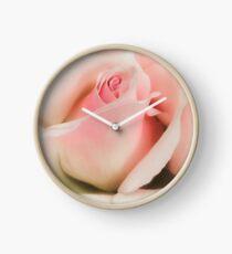 Blushing Pink  Clock