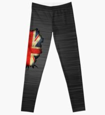 Legging Crack de la pared de Union Jack