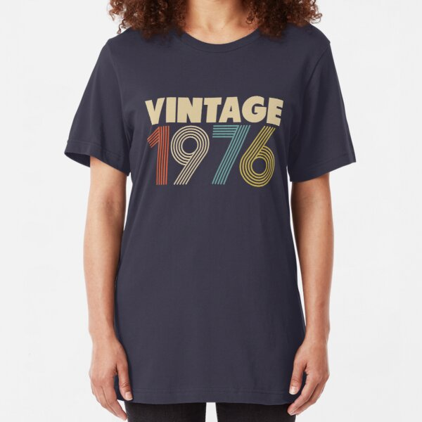 Vintage 1976 Slim Fit T-Shirt