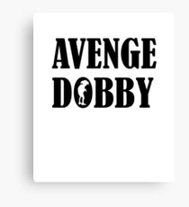 Avenge Dobby black Canvas Print