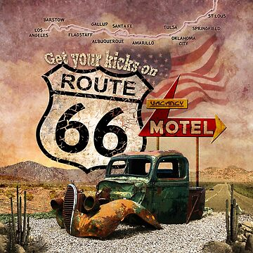 Get your Kicks on Route 66 by aura2000