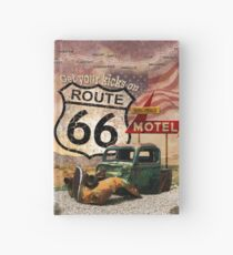 Get your Kicks on Route 66 Hardcover Journal