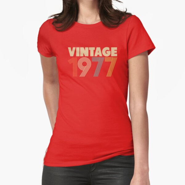 Vintage 1977 Fitted T-Shirt