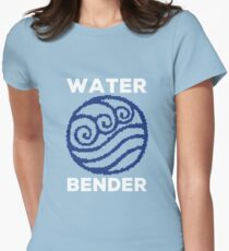 Water Bender and Proud Womens Fitted T-Shirt