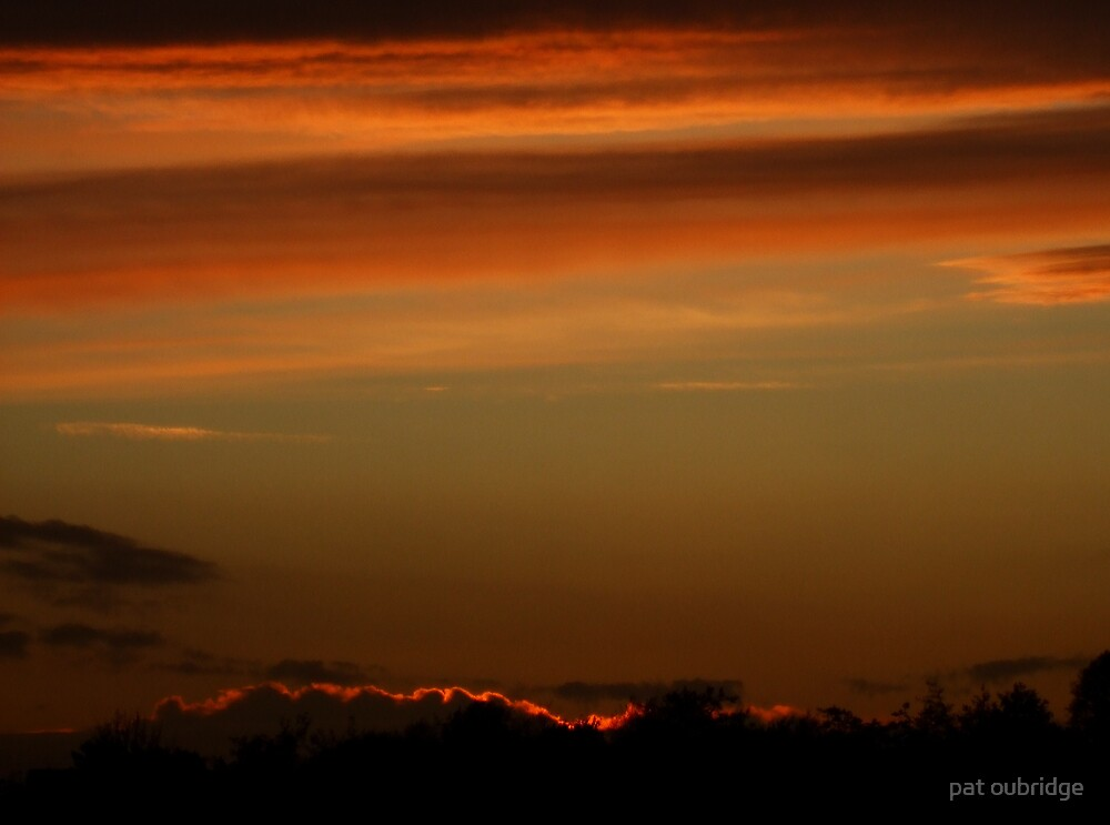 November Sunset by pat oubridge