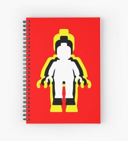MINIFIG MAN  Spiral Notebook