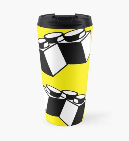 2 x 2 Brick Corner Travel Mug