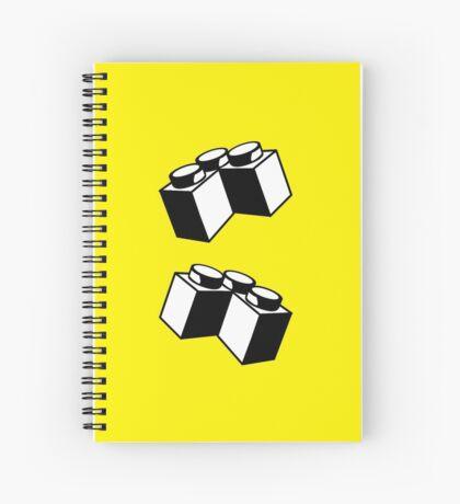 2 x 2 Brick Corner Spiral Notebook