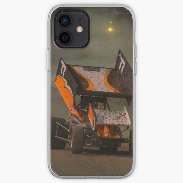 Sprint car racing iPhone Soft Case
