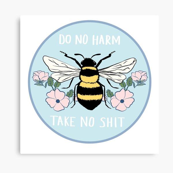 Do No Harm - Take No Shit Canvas Print