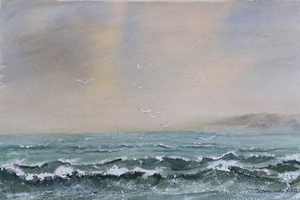 Sea And Sky by Artwayze
