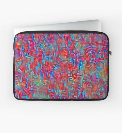 A group of birds standing on top of a sandy beach Laptop Sleeve