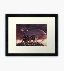 Space Marines Framed Print