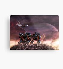 Space Marines Metal Print