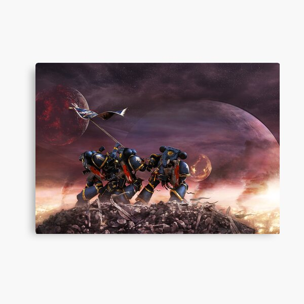 Space Marines Canvas Print