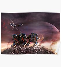 Space Marines Poster