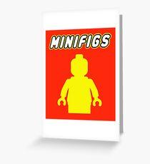 MINIFIGS Greeting Card